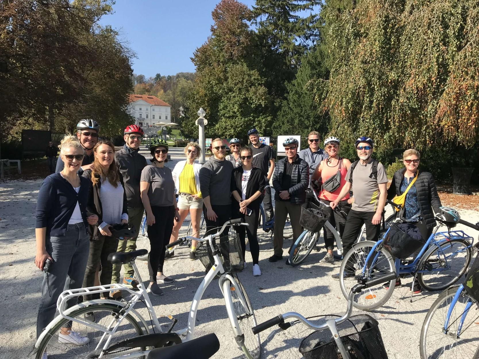 Ljubljana Bike Tour, Ljubljana by bike