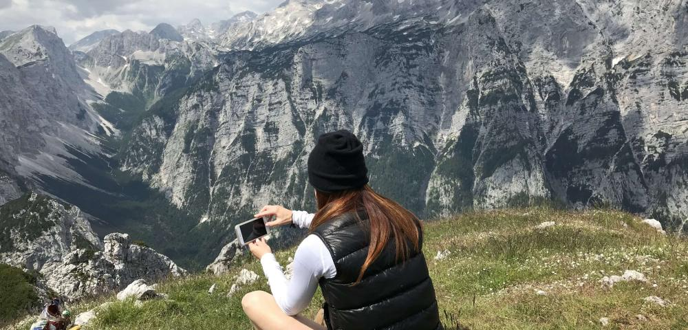 Vandrovc-Globetretter, Hiking in Slovenia, Julian Alps